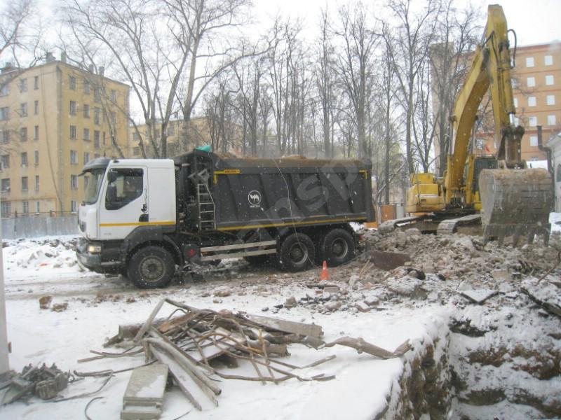 Вывоз мусора отходов москва